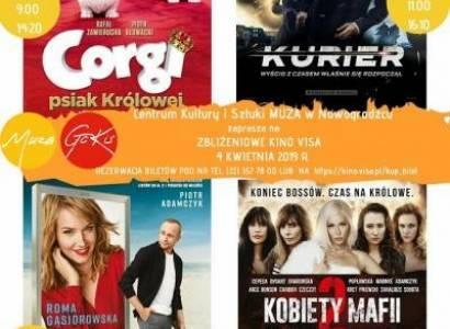 Zbliżeniowe Kino VISA w Nowogrodźcu!