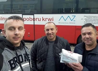 Strażacy z OSP Nowogrodziec-Osiedle II oddali krew