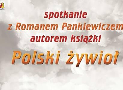 Spotkanie autorskie z pisarzem Romanem Pankiewiczem