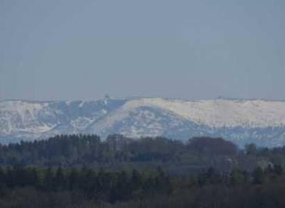 Panorama Karkonoszy z Gościszowa