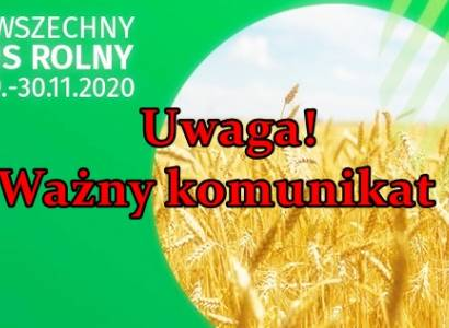 Spis Rolny drogą elektorniczną