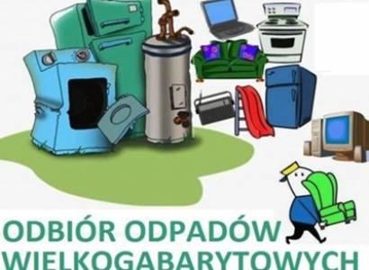 Harmonogram odbioru odpadów wielkogabarytowych